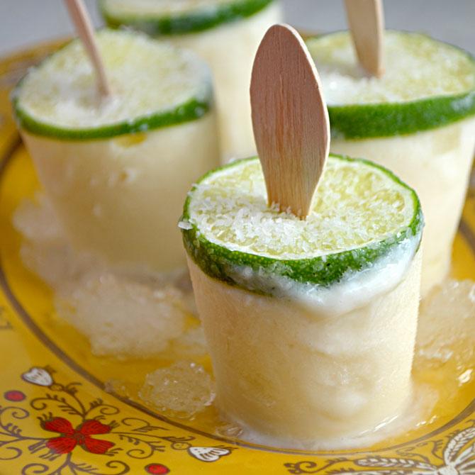 Margarita-Popsicles