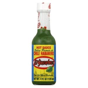 El Yucateco Habanero Sauce